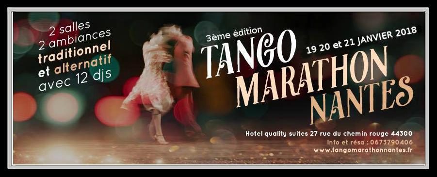 Tango Marathon Nantes 2018